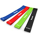 Yoassi Heavy to XX-Heavy Thicker Resistance Bands –Extra Long Fitness Stretch Band Yoga Straps & 4 Exercise Loop bands For GYM Legs Arms Pull Up Strength Training, Physical Therapy Theraband