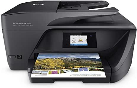 HP OfficeJet Pro 6968 All-in-One Wireless Printer, HP Instant Ink or Amazon Dash replenishment ready (T0F28A)