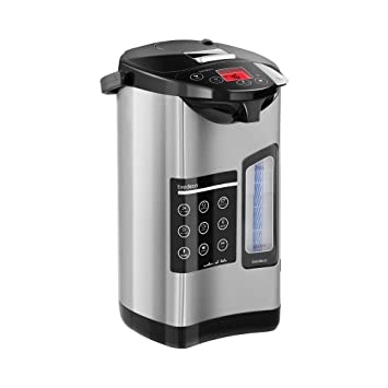 Bredeco Termo Dispensador Eléctrico De Agua BCTP-5-L (Acero Inoxidable, Rango Temperatura 40-100 °C, Capacidad 5 Litros): Amazon.es: Hogar