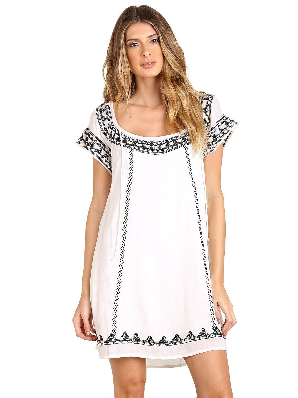 Tularosa Lila Tunic Dress White