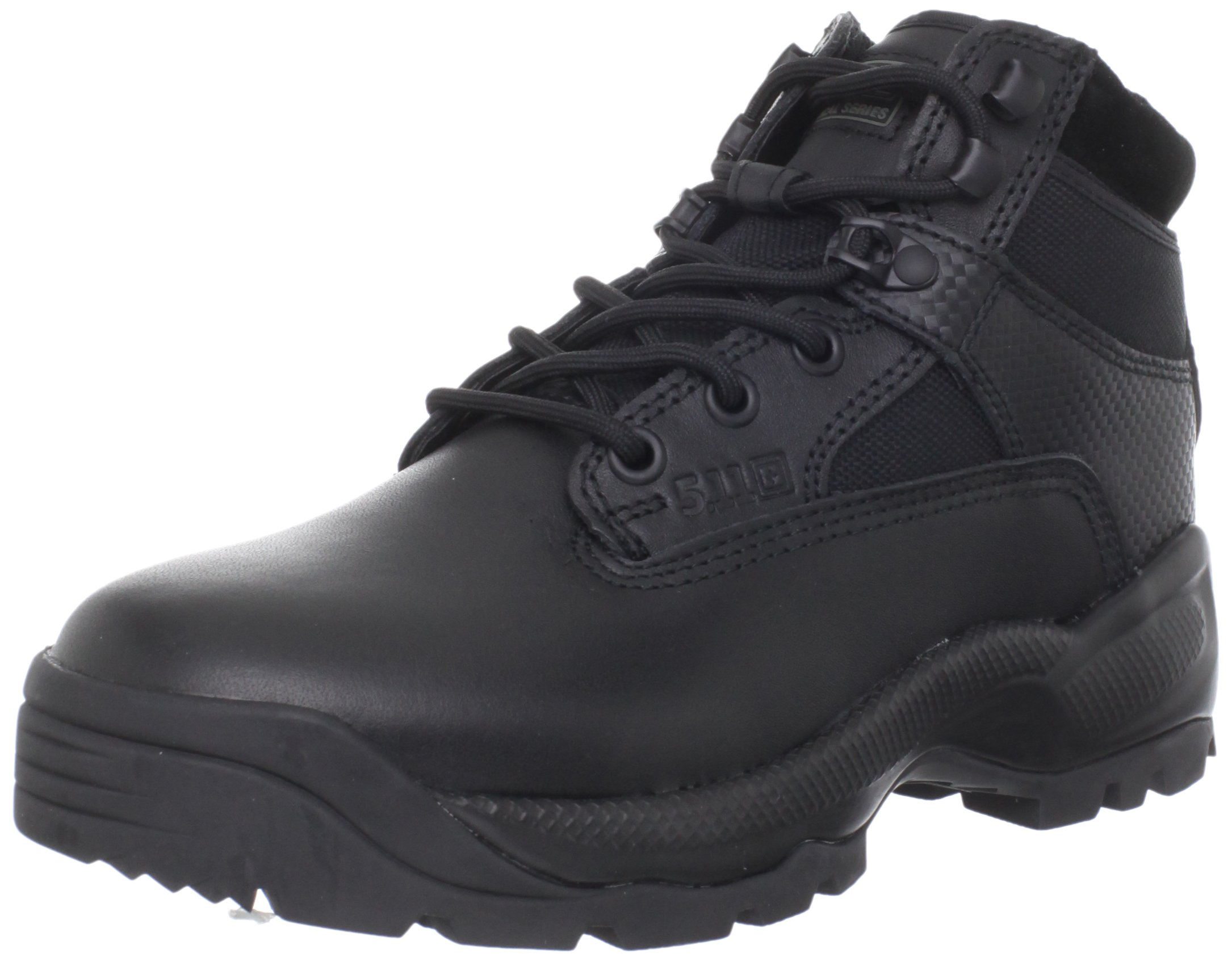 5.11 Tactical Women's A.T.A.C. 6'' With Side Zip Boot, Black, 8 D(M) US