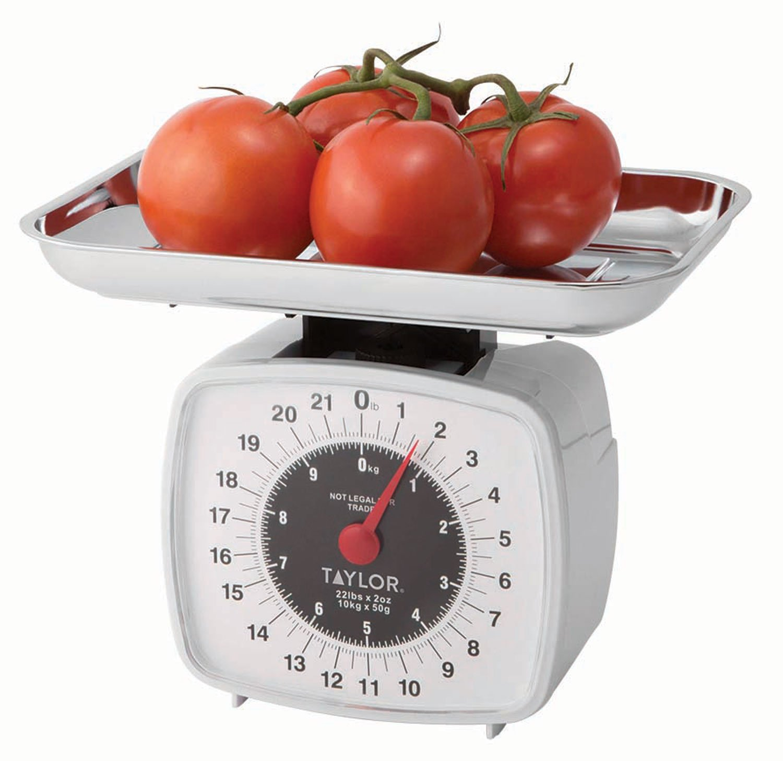 Taylor Precision Products Kitchen Scale (22-Pound/10-Kilogram)