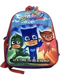 c313e3fd3aa7 Amazon.com   PJ Mask 12 inch Small Children School Backpack - Catboy ...