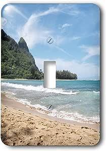 3drose Llc Lsp 22974 1 Hawaii Beach Ii Single Toggle Switch Switch Plates Amazon Com