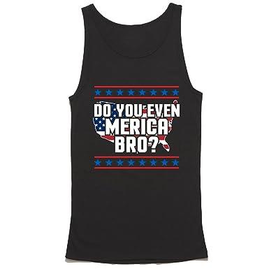 012cf04b0a872b HGOS Do You Even Merica Bro Tank Top - Funny American Tank Top - Patriotic  Shirt