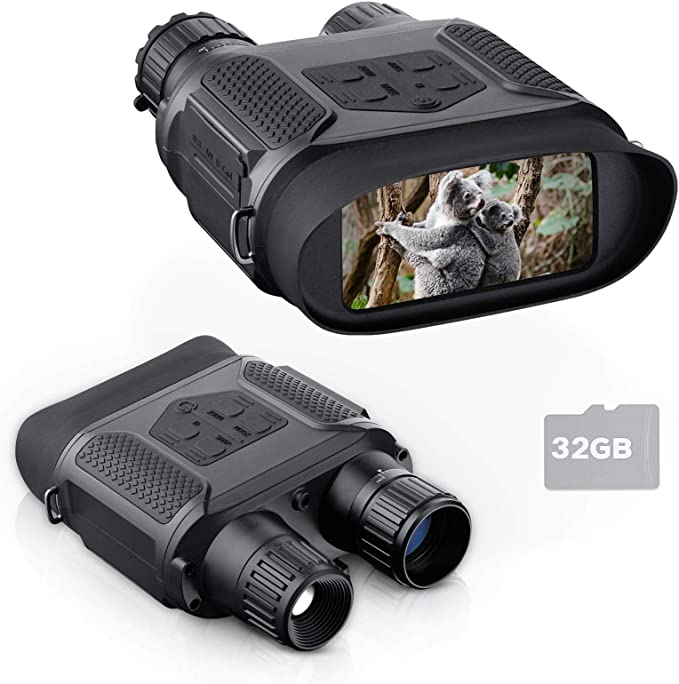 Bnise Digital Night Vision Binoculars 7x31MM Binoculars - Best at Night-Time