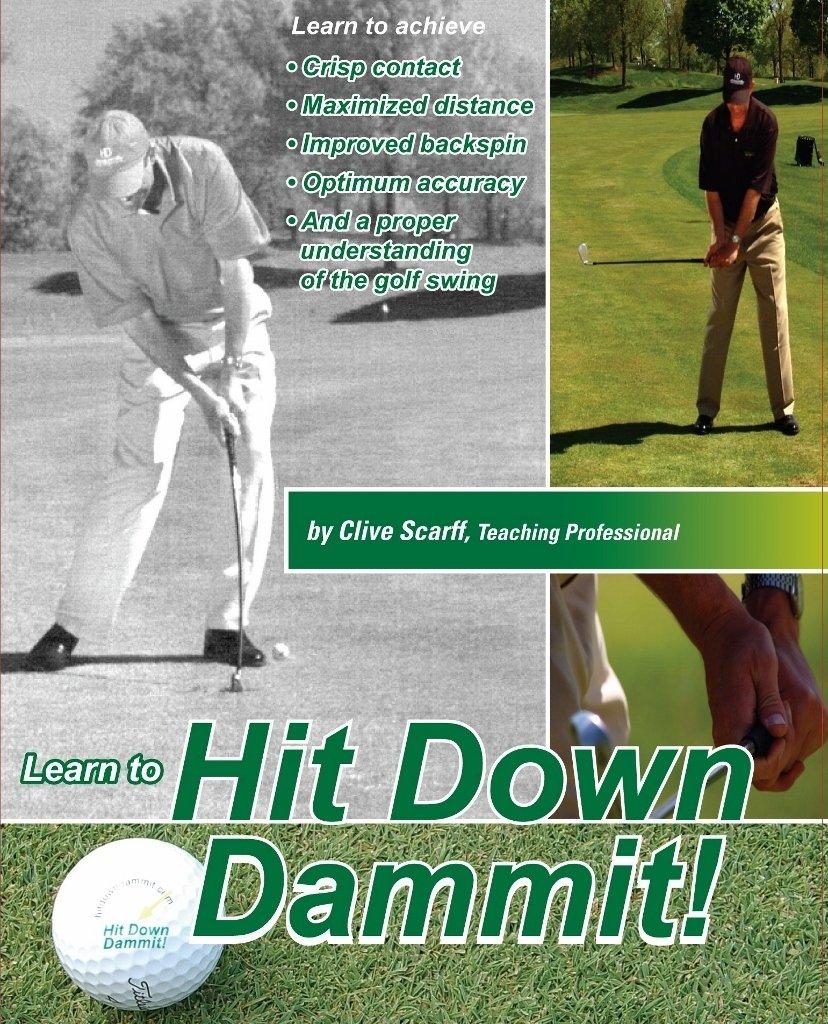 amazon com hit down dammit golf instruction unavailable clive