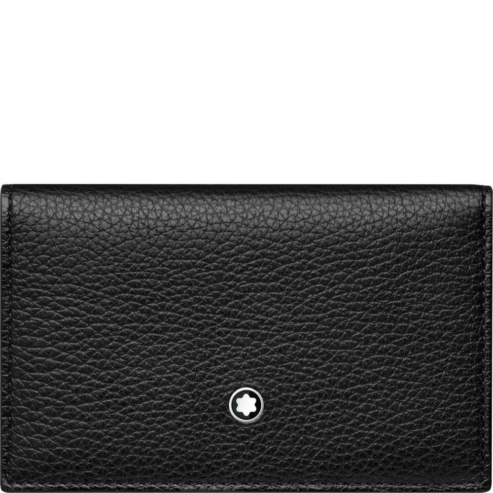 Montblanc 116745 Meisterstück Soft Grain Business Card Holder Double Envelope