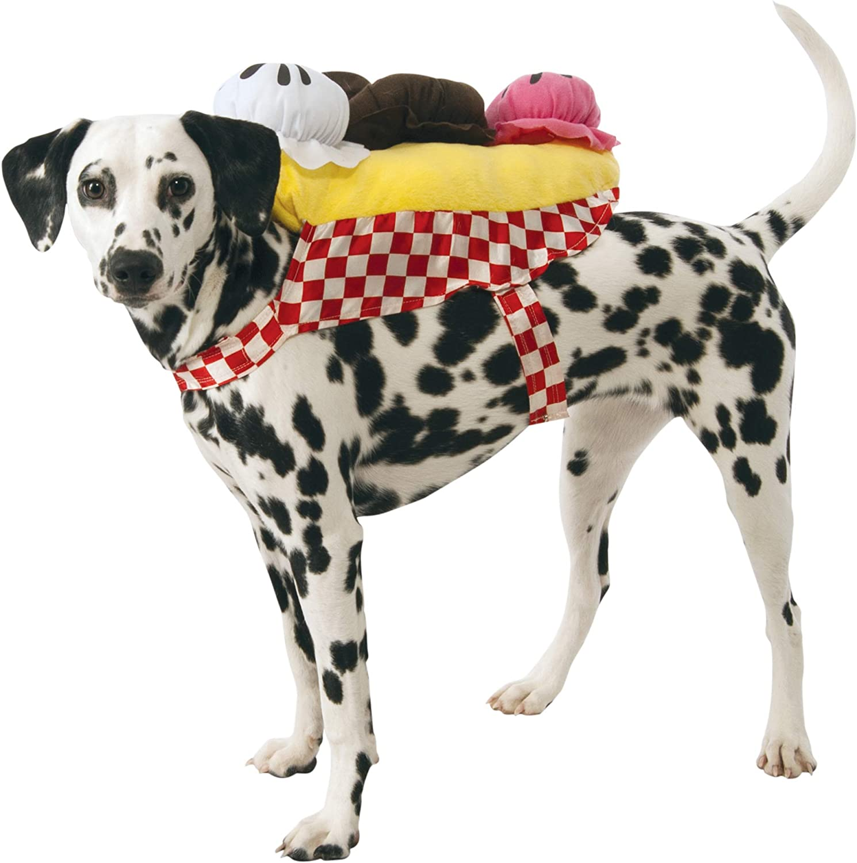 Rubie's Banana Split Ice Cream Sundae Dog Costume