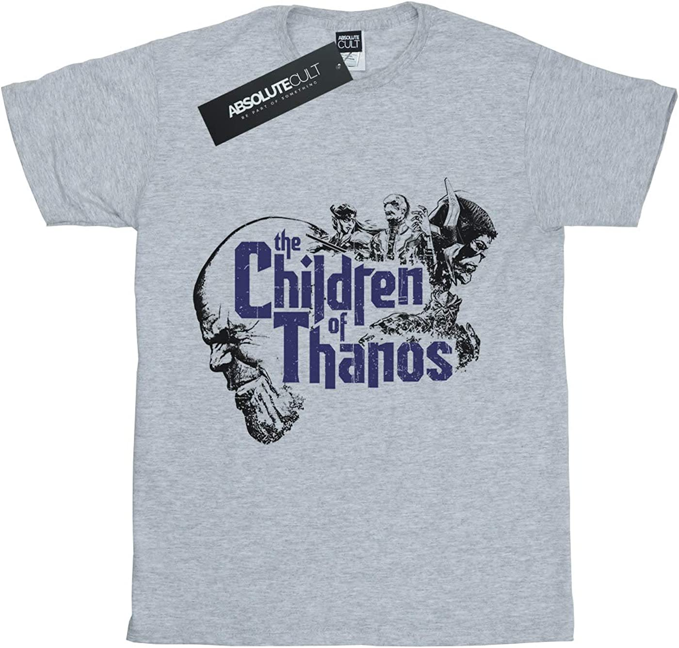 Avengers Boys Infinity War Children Of Thanos T-Shirt Sport Grey 7-8 Years