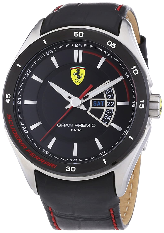 Scuderia Ferrari Herren-Armbanduhr Datum Klassisch Quarz 830183