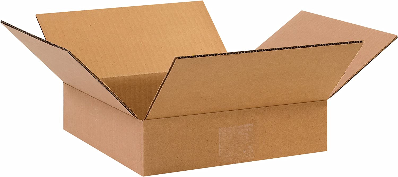 6x6x4 Kraft Pack of 25 Corrugated Cardboard Box