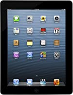 Apple iPad 3 Retina Display Tablet 32GB, Wi-Fi, Black (Renewed)