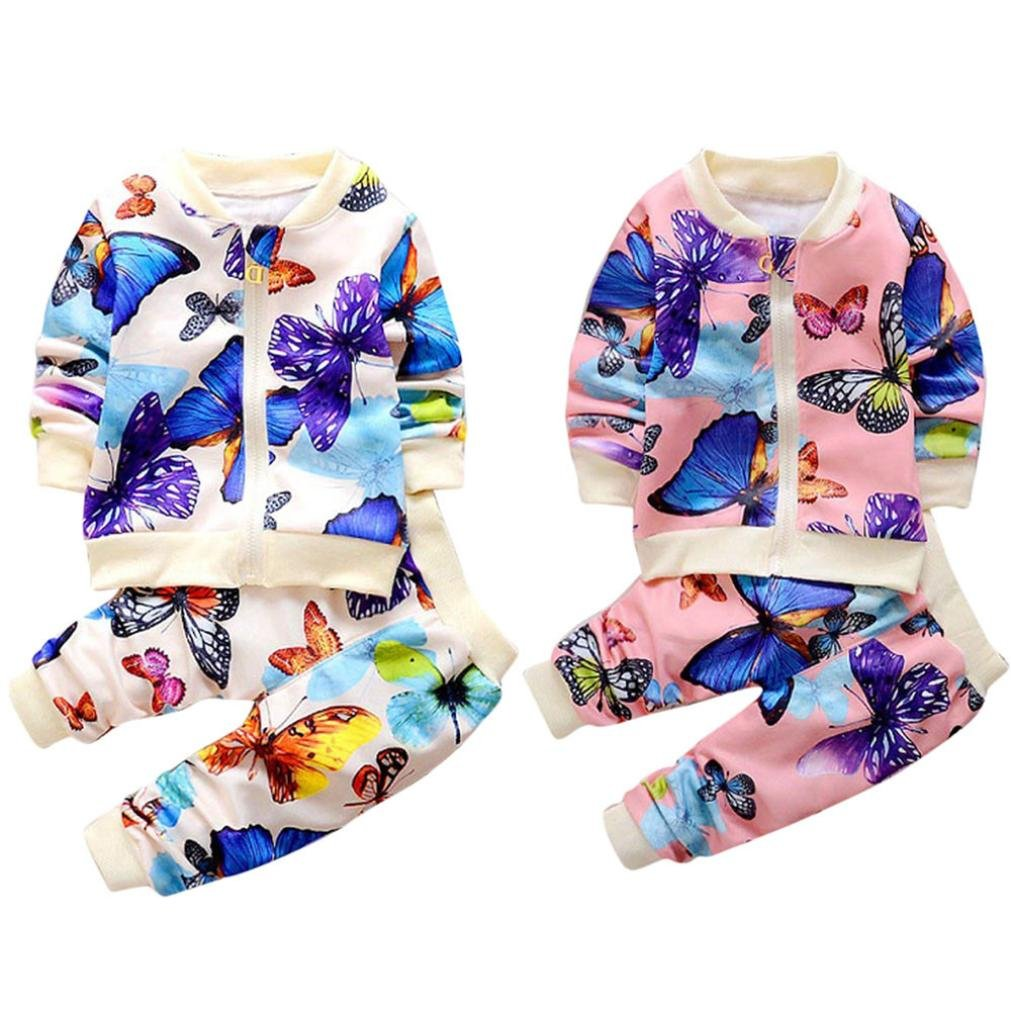 1ce1d8c7293d Amazon.com  Baby Toddler Girl Kids Autumn Winter Outfit Clothes ...