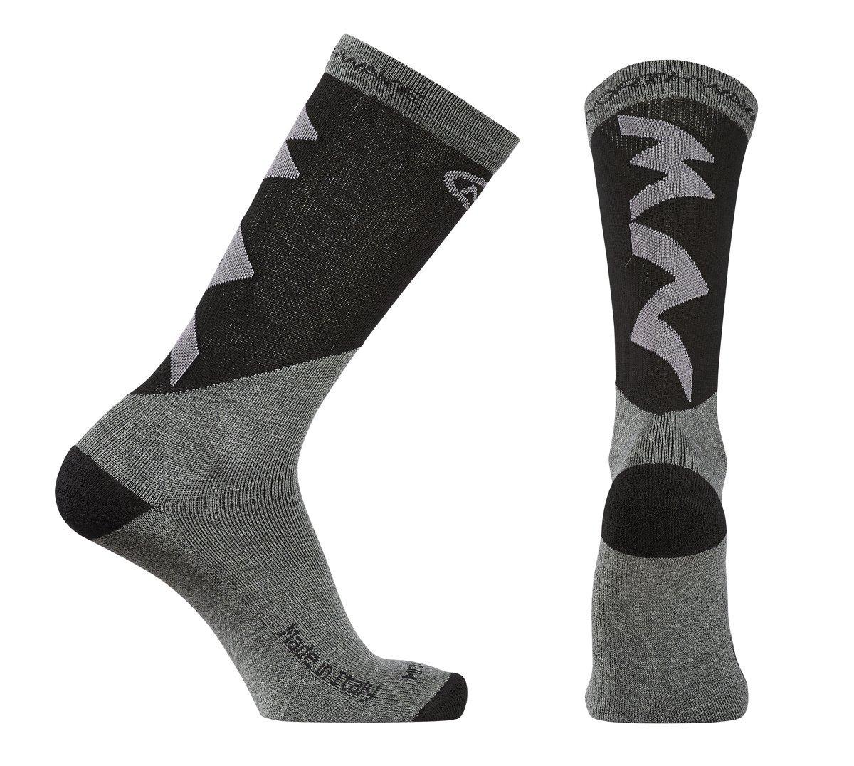 Northwave Extreme Pro Winter Fahrrad Socken grau//schwarz 2016