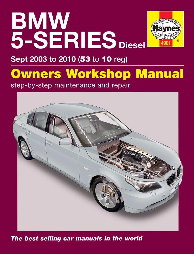 Bmw 5 Series Repair Manual Haynes Manual Service Manual Workshop Manual  2003-2010 E60 E61: Amazon.co.uk: Car & Motorbike