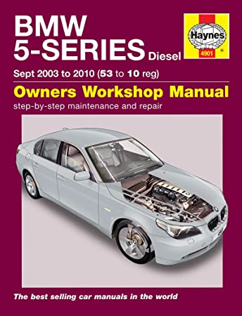 bmw 5 series diesel e60 e61 haynes manual 2003 2010 amazon co uk rh amazon co uk service manual bmw 523i service manual bmw 523i