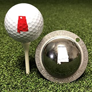 product image for Tin Cup Alabama State Golf Ball Custom Marker Alignment Tool
