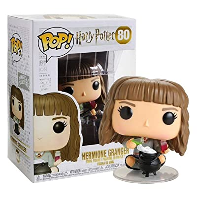 Funko Pop! Harry Potter #80 Hermione Granger with Cauldron (Hot Topic Exclusive): Toys & Games