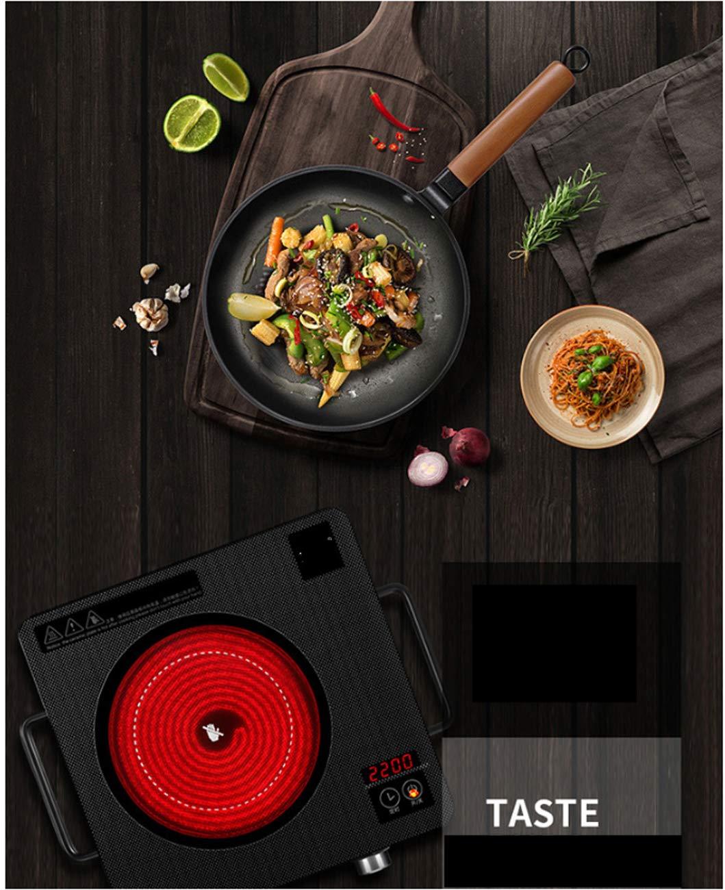 Huaishu Cocina De Escritorio Multi-Función Eléctrica Vitrocerámica No Inducción: Amazon.es: Deportes y aire libre