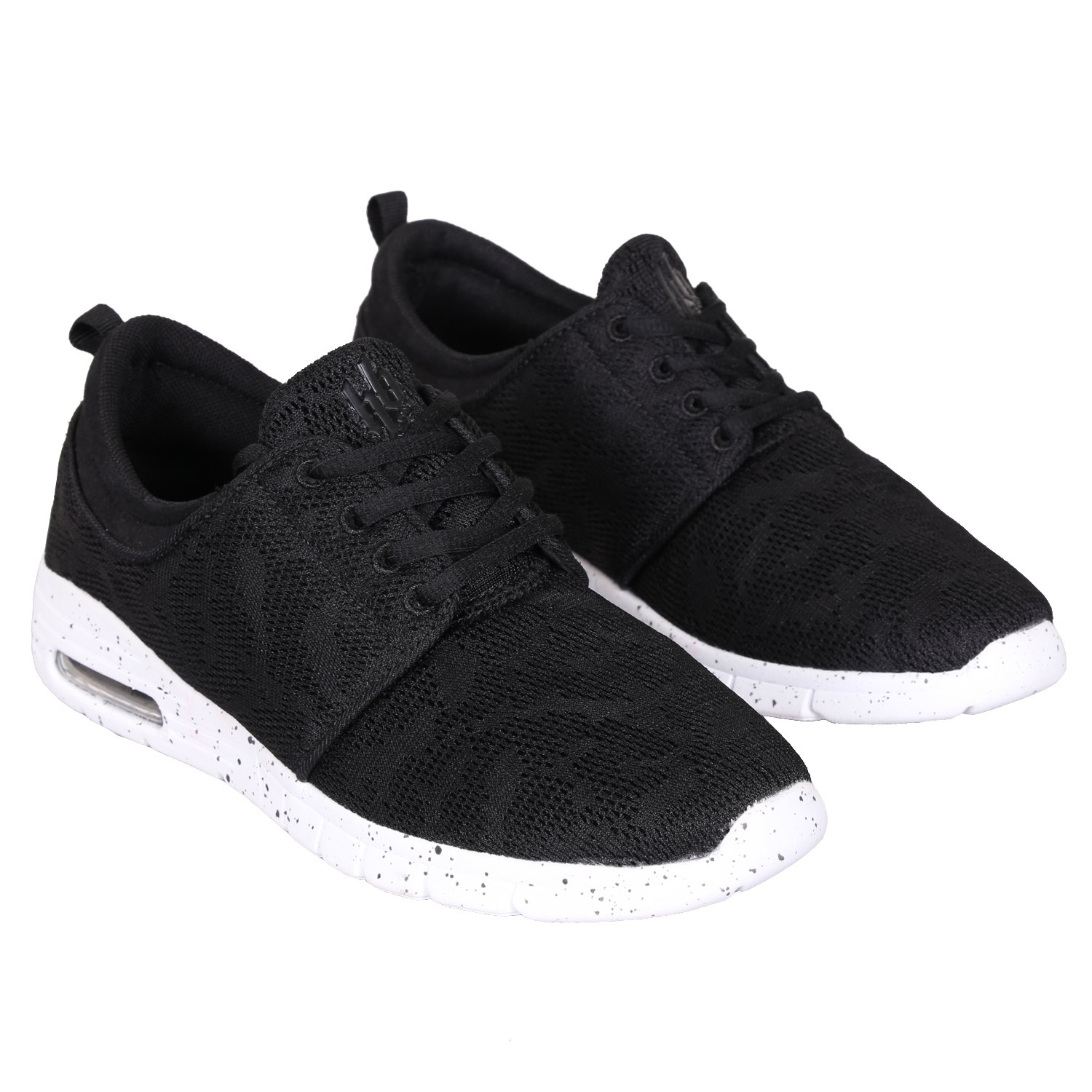 Hoodboyz Space Plain Herren Low Sneaker Schwarz