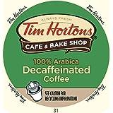 Tim Horton's Single Serve Coffee Cups, Decaffeinated, 24 Count