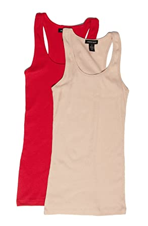 a2ec369bcb99d Amazon.com  Active Basic Women s Ribbed Tank Top  Clothing