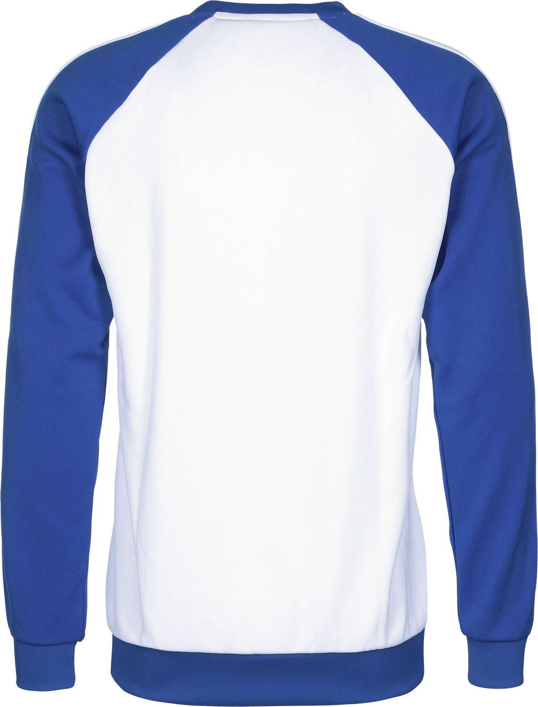adidas SST Crew Sudadera, Hombre, (Blanco/Azul), XS: Amazon.es: Deportes y aire libre