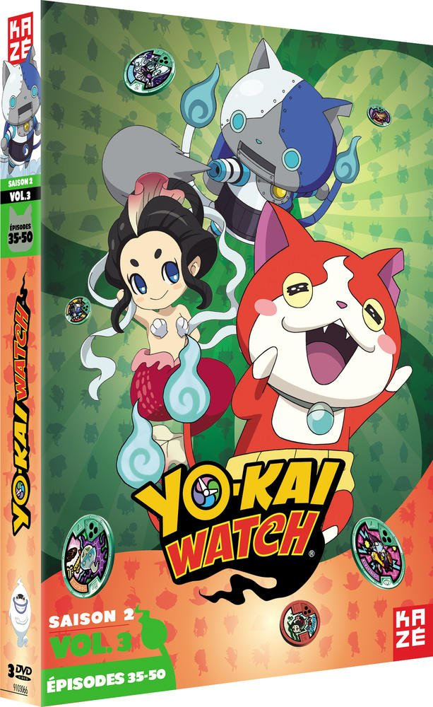 Yo-kai Watch - Saison 2, Vol. 3/3 [Francia] [DVD]: Amazon.es: Shinji Ushiro: Cine y Series TV