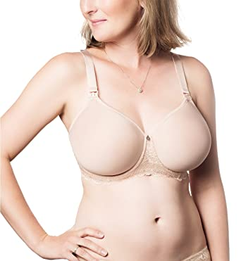 e56567c547b HOTmilk obsession Molded Spacer Flexi-Wire A-Frame Nursing Bra at ...