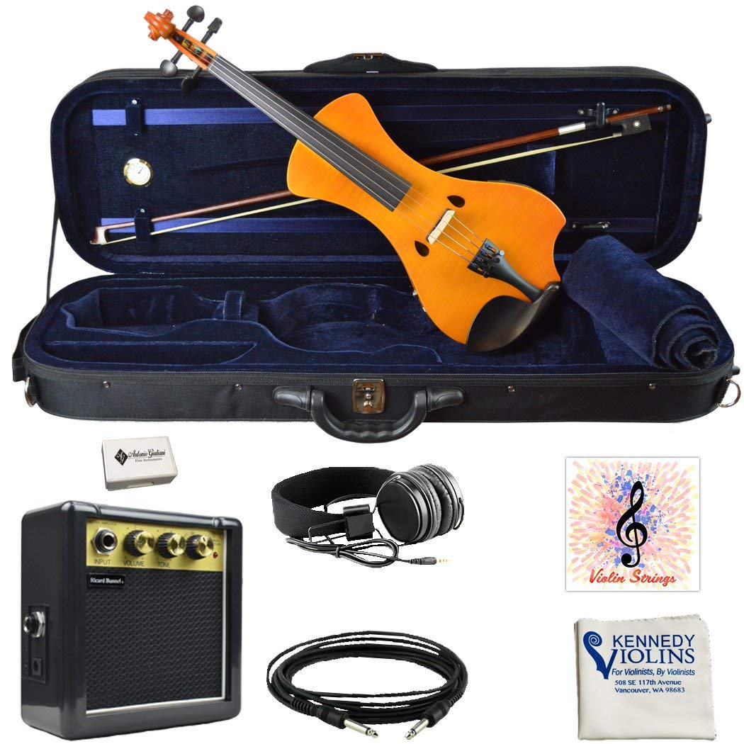 Bunnel NEXT Clearance Electric Violin (Marigold) BN400 by Kennedy Violins