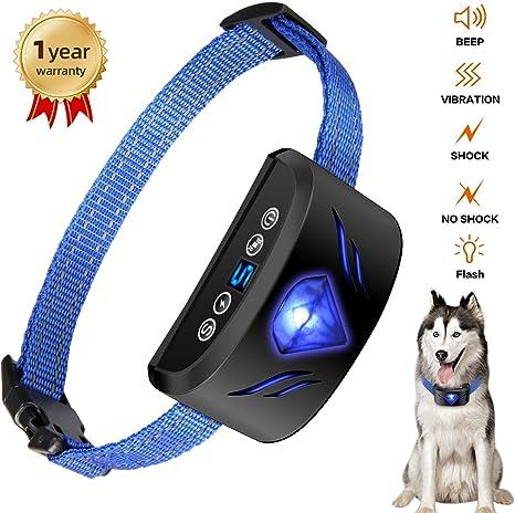 Amazon.com: Collar de corteza de perro – Collar de choque de ...