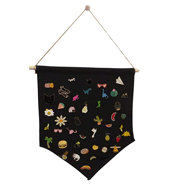 Enamel Pin Wall Display Banner - Display Pins, Buttons and Lapel  Collections