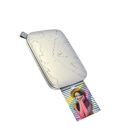 Amazon.com: Impresora fotográfica portátil HP Sprocket ...