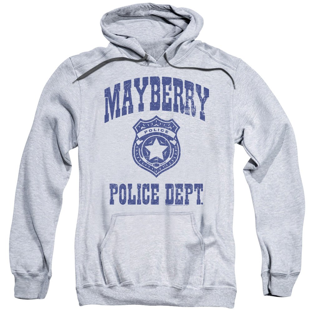 Andy Griffith Show - - Herren Mayberry Police Pullover Hoodie