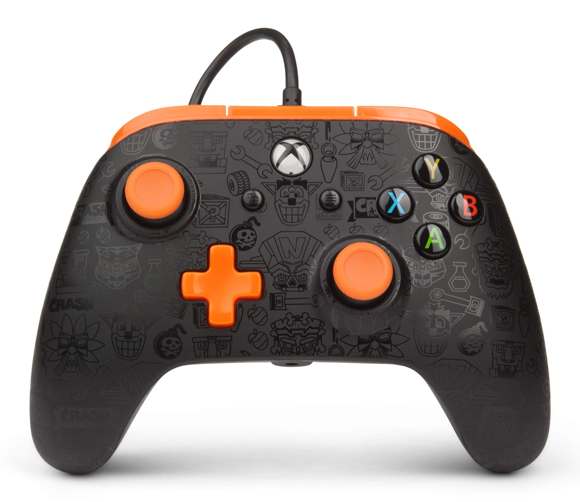 PowerA Enhanced Wired Controller for Xbox One - CTR Shadow Crash Team Racing - Xbox One