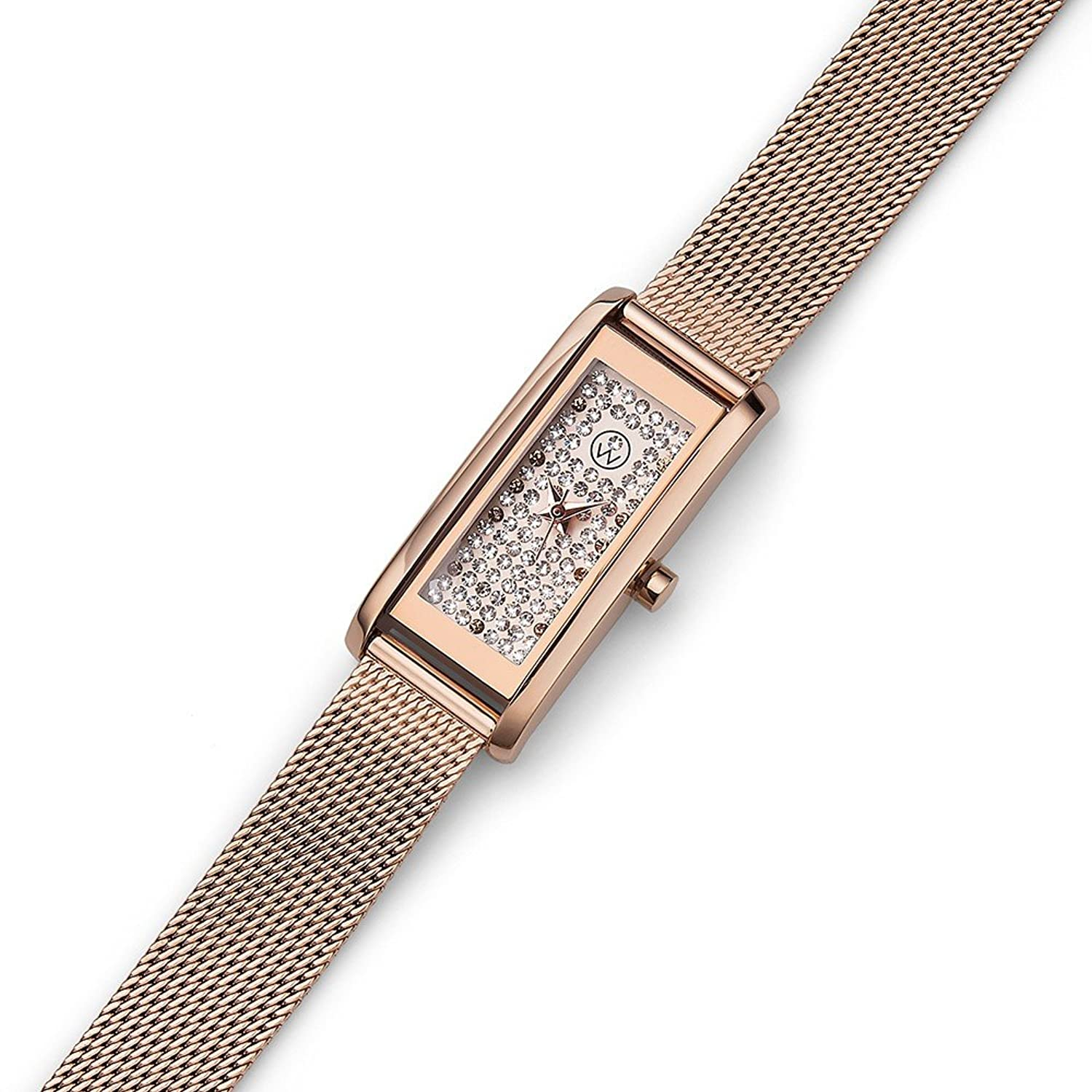 Oliver Weber Uhr Monaco rosegold with Crystals from Swarovski Damen
