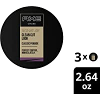 AXE Clean Cut Look Hair Pomade, Classic, Pack of 3