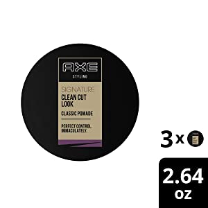 AXE Pomade Clean Cut Look Classic 2.64 oz, 3 Count