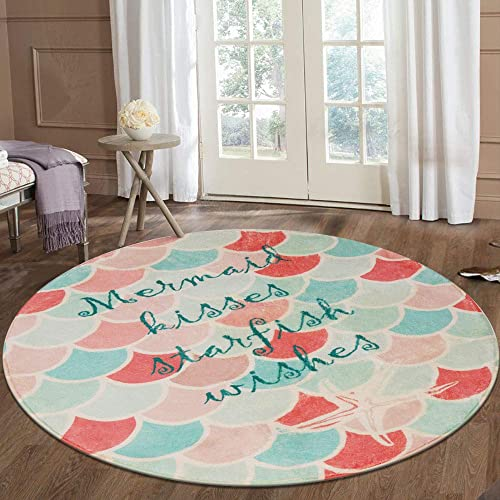 LIVEBOX Mermaid Area Rug