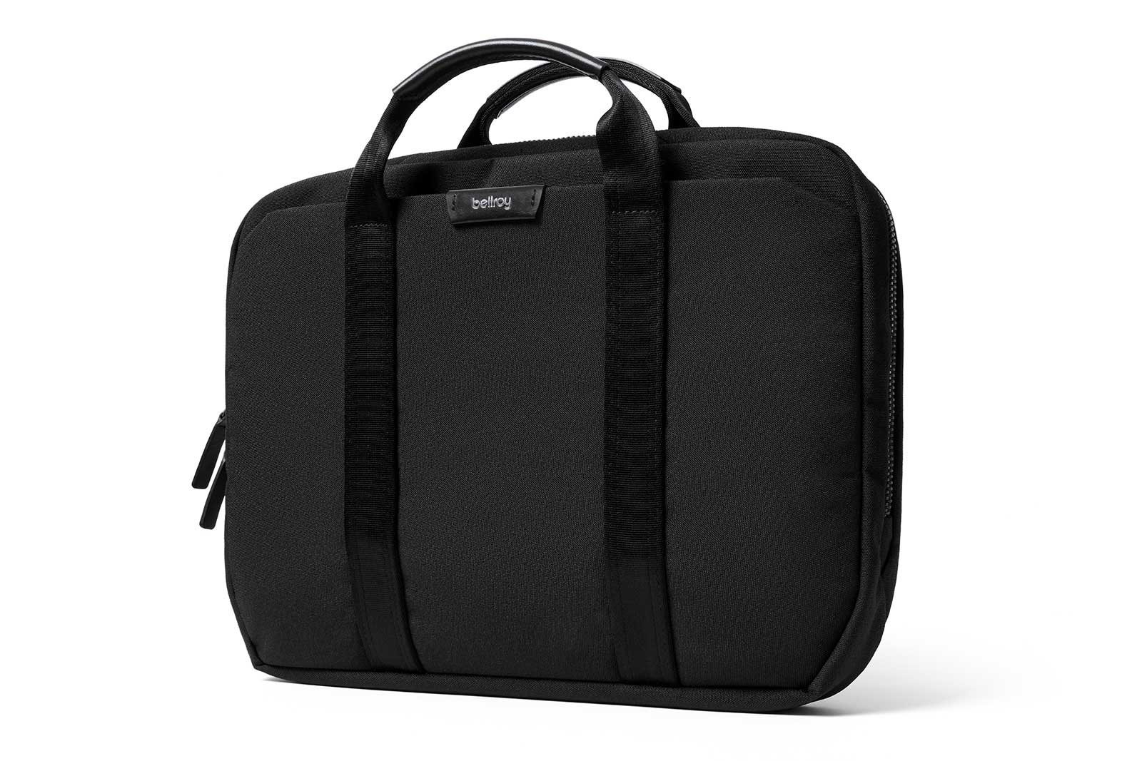 Bellroy Laptop Brief 13'', Woven Laptop Bag (13'' Laptop, Notes, Cables, Everyday Essentials) Black
