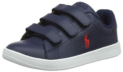 Ralph Lauren Quilton EZ, Baskets Mixte Enfant  Amazon.fr  Chaussures ... e107feba8e6