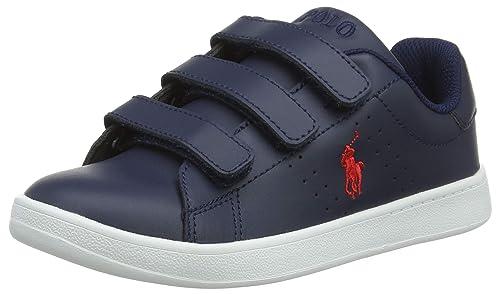 6c93b9f34f0 Ralph Lauren Unisex Kids' Quilton Ez Trainers: Amazon.co.uk: Shoes ...