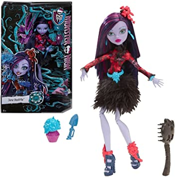 Amazon.es: MONSTER HIGH Doll - Gloom & Bloom Jane Boolittle ...