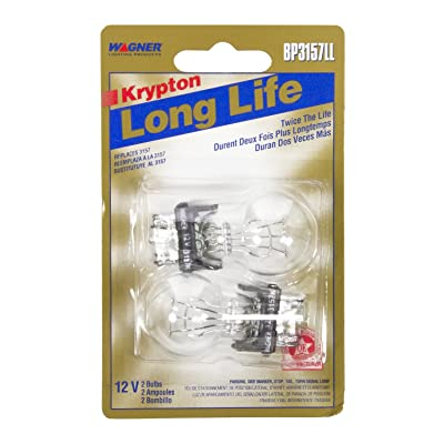 Wagner Lighting BP3157LL Long Life Miniature Bulb - Card of 2: Automotive