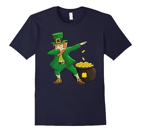 Shirt Dabbing Leprechaun Funny St Patricks Dab Tshirt Hiphop Dance