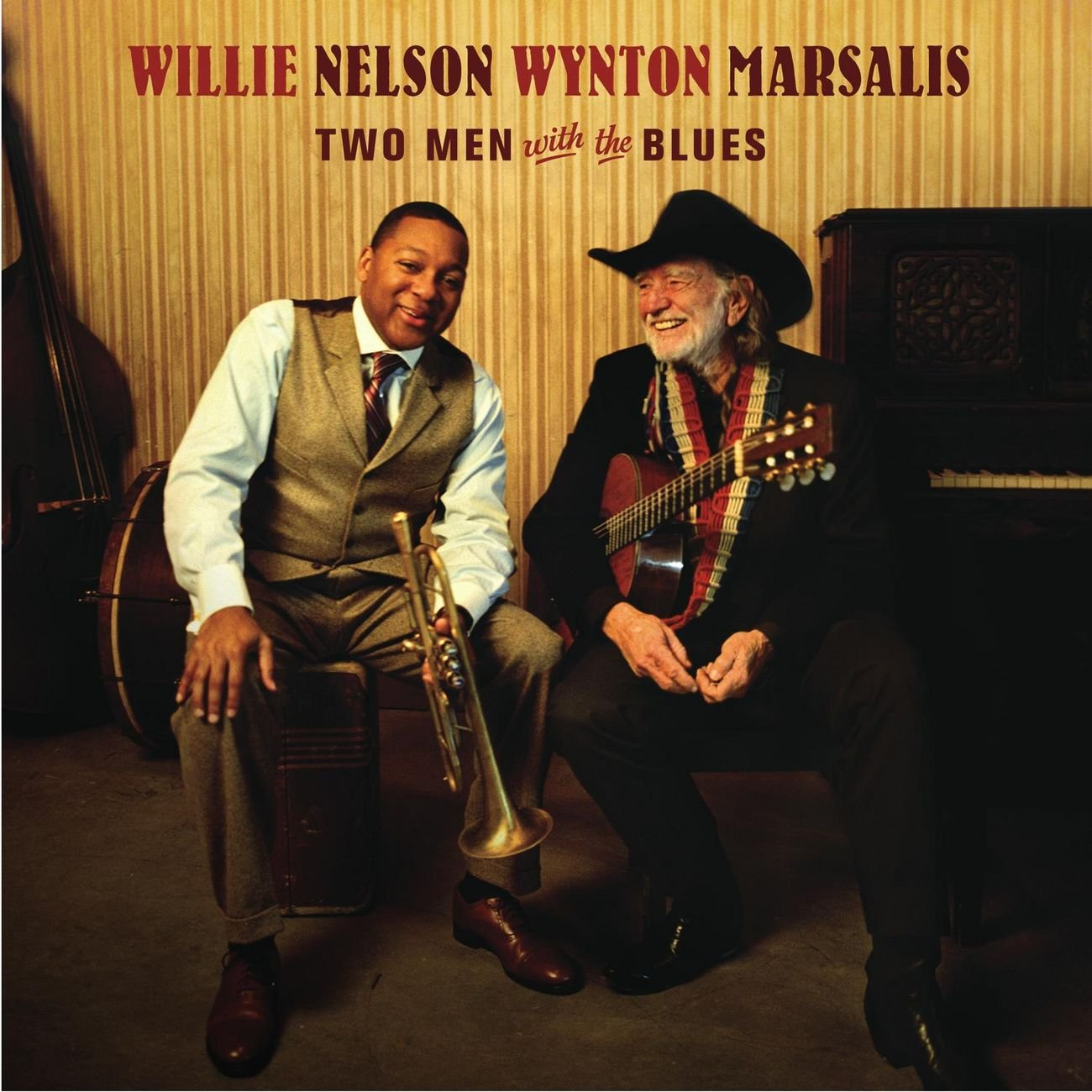 two men with the blues: willie nelson & wynton marsalis: Amazon.es: CDs y vinilos}