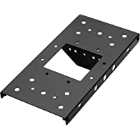 "Architectural Mailboxes 7540B-10 Mailbox Adapter Plate, 4"" x 4"", Black"