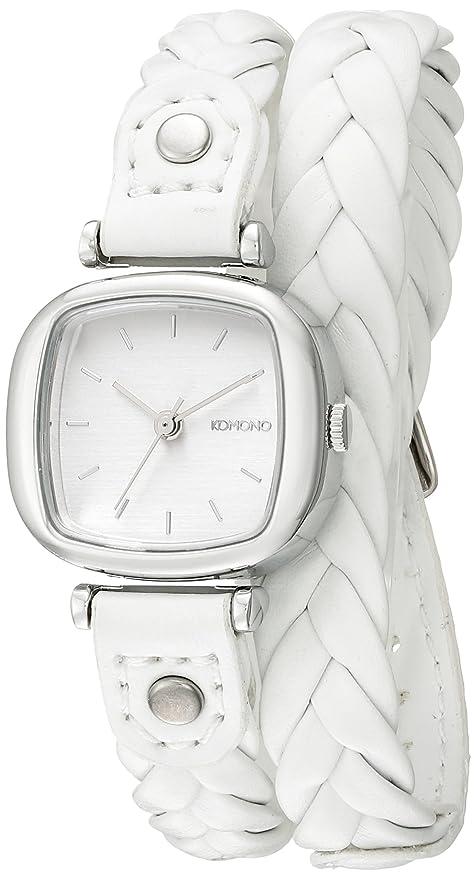 Komono KOM-W1230 - Reloj de pulsera Mujer, color Blanco