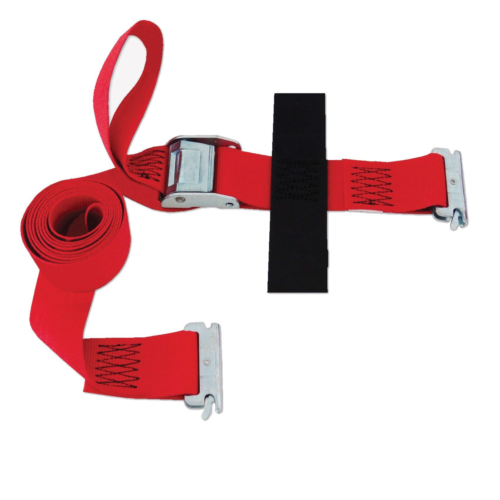 SNAPLOCS E-STRAP 2''x8' CAM (USA!) with Hook & Loop storage fastener